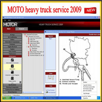 Wholesale Manual Mitchell - 2013 MOTO heavy truck service manuals 2009 similar as mitchell heavy truck