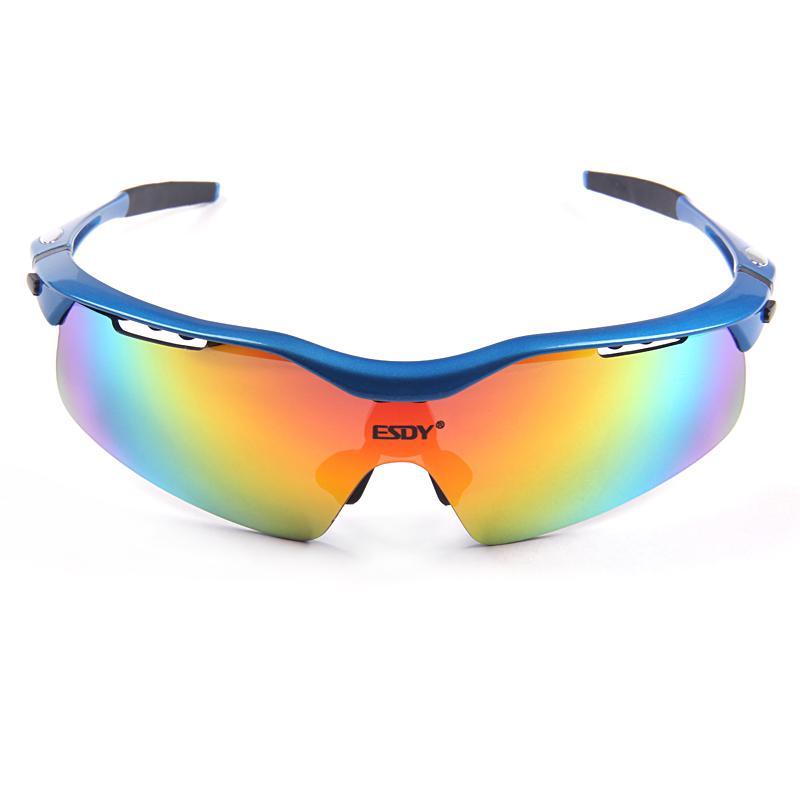 Esdy Sports Glasses 5 Lenses Tr90 Sunglasses Uv400 ...