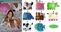 Wholesale Wholesale Doomagic Pillowcase - Doomagic classic style pet pillow Fish children pillow cozy companion pillowcases 8 styles