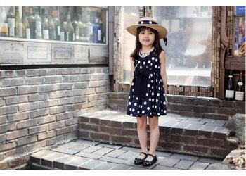 Yeni Çocuk giyim 2color 2 ~ 11Ages Kız elbisesi