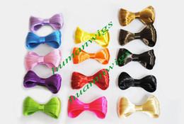 Bowknot perücke online-Kostenloser Versand!! Bunte Lady Gaga synthetische Haarschleife Perücke Bowknot für Haar Clip / Pin Zubehör 8 CM, 14 Farben Optional