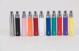 Wholesale Ego C Battery Colors - AAAA Quality EGo-T Ego T eGo W eGo C Electronic Cigarette Battery Multi Colors 650mAh 900mAh 1100mAh new arrival