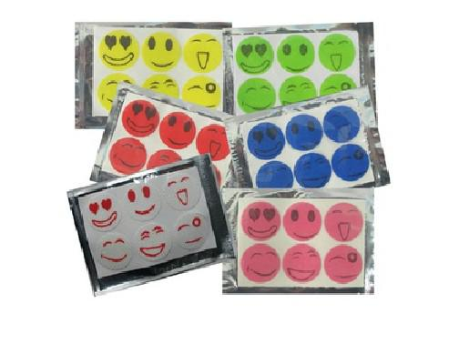 top popular 1200pcs * 2013 new Nature Anti Mosquito Repellent Insect Repellent Bug Patches Smiley Face Patches Baby Adult 2019