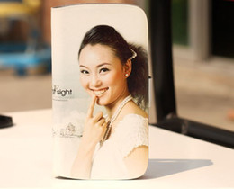 Wholesale Galaxy S3 Sublimation - Leather DIY sublimation blanks case with magnet and Card slot for samsung galaxy S3 i9300 free shipping 20pcs lot