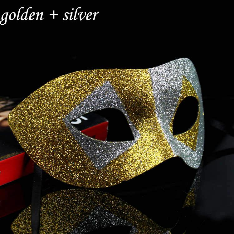 2015 Hot Contrast Color Masquerade Balls Mask Ball Sexy Máscaras Lady Party Supplies Unisex 10 unids / lote MA15