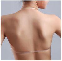 Wholesale genuine underwear resale online - Genuine thicker silicone invisible bra paste invisible underwear bra small chest swim spa can not afford the wedding