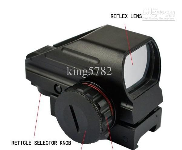Red Green Dot Laser Point Sight Tactical Reflex Air Rifle Scope Pistol Airgun Hunting