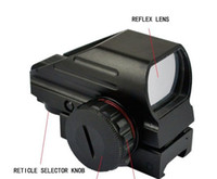 Wholesale Hunting Red Dot - Red Green Dot Laser Point Sight Tactical Reflex Air Rifle Scope Pistol Airgun Hunting free shipping