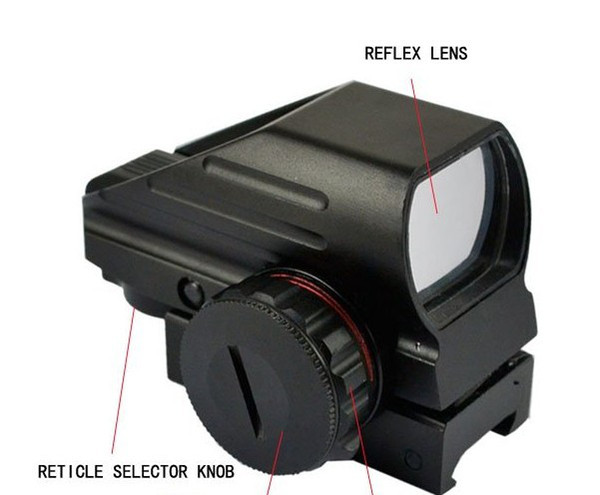 Red Green Dot Laser Point Sight Tactical Reflex Air Rifle Scope Pistol Airgun Hunting free shipping
