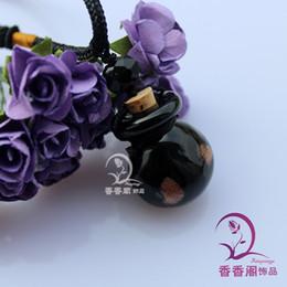 Wholesale Murano Glass Diffuser Essential Oil - Murano Glass Perfume Necklaces aromatherapy diffuser necklace pendant essential oil bottles