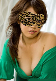 Wholesale Sexy Mask For Carnival - Sexy Leopard Women Mask Holiday Party Carnival Half Face Mask Masquerade Festive Decoration 10pcs lot MA16
