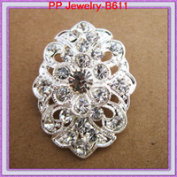 Plaqué argent 12PCS / LOT Wedding Bridal Sash Petite broche Pin broche / Fancy Girls 'Corsage / Cheap Jewelry