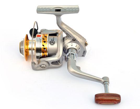 Vente chaude Spinning mer moulinet de pêche Leurre moulinet SG2000A rond pôle moulinet à pêche en métal FR005 livraison gratuite