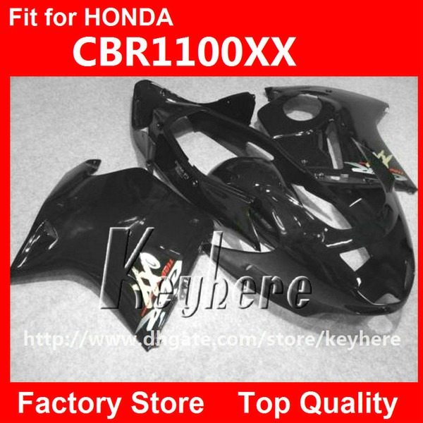 Free 7 gifts injection fairing kit for Honda CBR1100XX 2006 2007 CBR 1100XX 06 07 CBR 1000 XX fairings g3k all black body motorcycle parts