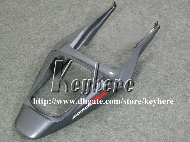 Livre 7 presentes kit de carenagem de injeção para Honda CBR600RR 2003 2004 CBR 600RR 03 04 F5 CBR 600 RR carenagem g7k cinzento preto carroceria da motocicleta