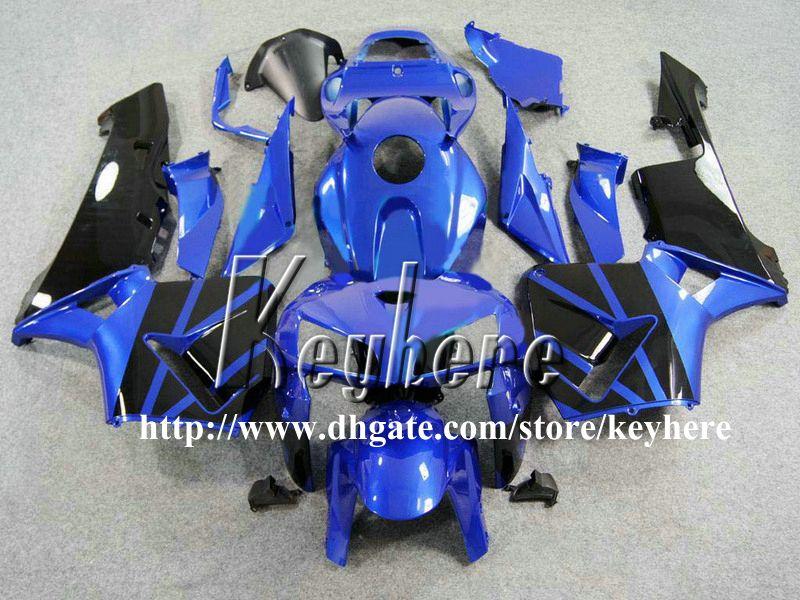 Kit de carenado de inyección gratuito 7 regalos para Honda CBR 600RR 2005 2006 CBR600RR 05 06 F5 CBR600 RR carenados G1k azul negro trabajo de la carrocería de la motocicleta