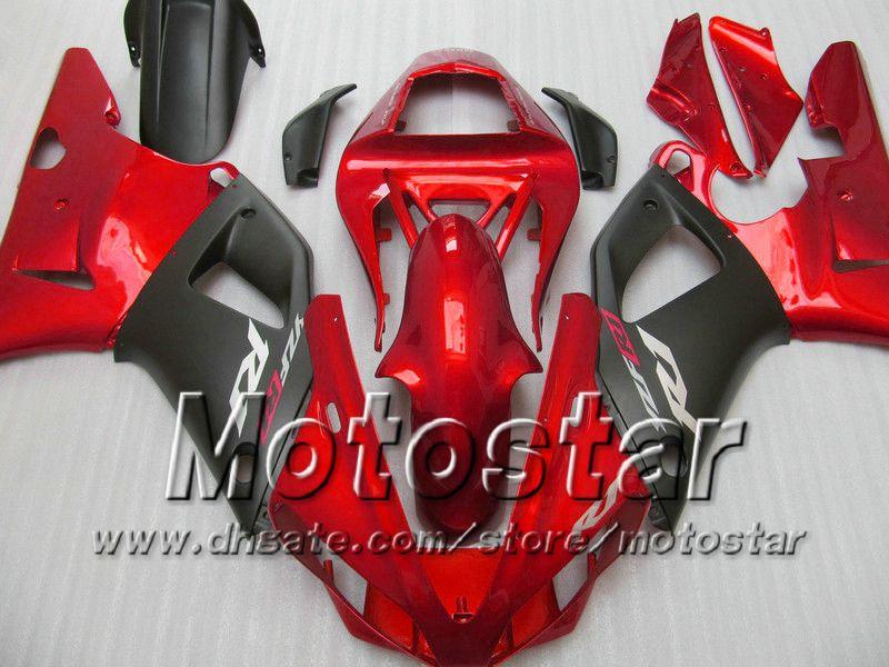 7 подарков обтекатели кузова для 2000 2001 Yamaha YZF R1 YZFR1 00 01 YZF-R1 YZF1000 глянцевый красный черный полный комплект обтекателя MM9