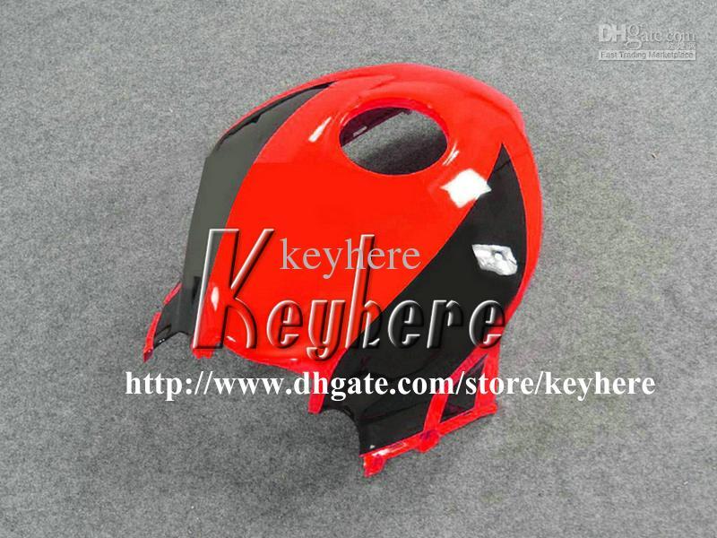Kit de carenado de inyección gratuito 7 regalos para Honda CBR 600RR 2007 2008 CBR600RR CBR 600 RR 07 08 F5 carenados G9k rojo plateado carrocería de la motocicleta