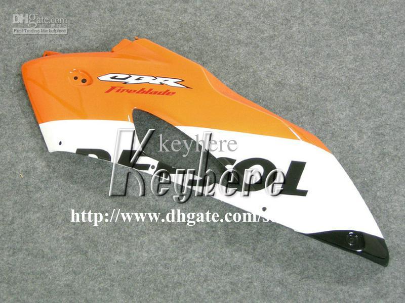 Kit de carenado por inyección 7 regalos gratis para Honda CBR1000 RR 2004 2005 CBR1000RR 04 05 Carenados CBR 1000RR G7l REPSOL naranja rojo motocicleta cuerpo