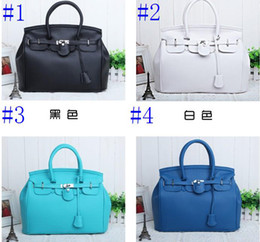 Wholesale Camel Hand Bag - Korean Elegant Vintage Womens Lady Celebrity PU Leather Totes Handbags Shoulder Hand Bag with Lock