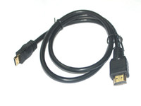 Wholesale FT Mini HDMI to HDMI Cable M to Male1 b Hi Speed Wire p HD Good quality