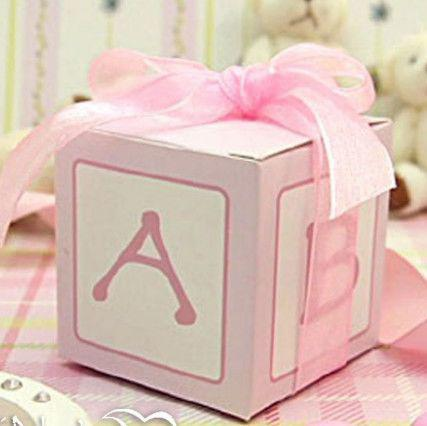 Baby Shower Cubic Favor Box Birthday Party Christening Baptism Gifts Boxes  4x4 Favor Boxes Big Favor Boxes From Chance2win, $57.29| Dhgate.Com