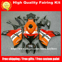 Wholesale body kits free for sale - Group buy Free gifts injection fairing kit for Honda CBR1000RR CBR RR CBR1000 RR fairings g5i REPSOL orange body work