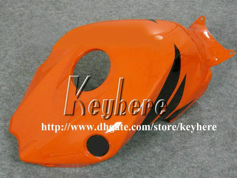 Kit de carenagem de injeção de 7 presentes grátis para Honda CBR1000RR 2008 2009 2010 CBR 1000RR 08 09 10 carenagem de injeção de gRi RR g5i REPSOL trabalho de corpo laranja