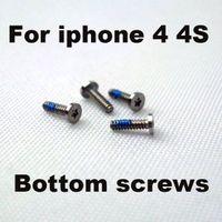 Wholesale Iphone Dock Screws - 2000pcs Pentalobe Screws 5 Point Star Pentagen Pentagonal Screw Bottom Dock For iPhone 4 4s