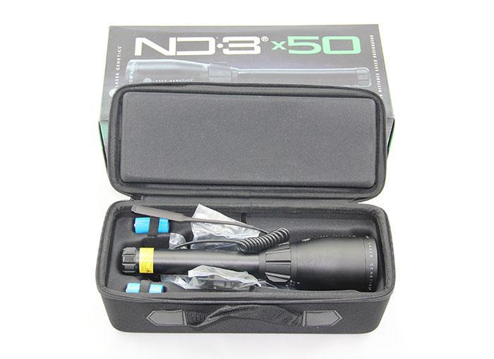 Genetica laser ND3 X50 Designatore laser a lunga distanza con supporto scope regolabile