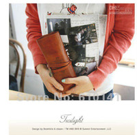 Wholesale Twilight Retro Pen Bag - Free shipping Retro pen bag, twilight leather pencilcase,