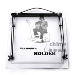 Wholesale Harmonica Neck - 24 harmonica mount halter-neck type harmonica rack 10 24
