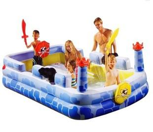 Inflatable Pool Slide Intex 2017 intex swimming pool spray 57463 inflatable paddling pool