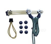 Wholesale Pocket Slingshots - Pocket Dual-Use Slingshot Anti-skidding String Handle Hunter Sling Shot Catapult