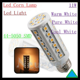 Wholesale E14 44 - E27 E26 E14 B22 44-5050 SMD LEDS 11W Led Light Led Corn Lamp Energy Saving Led Lamp Warm Pure Cool Free shipping