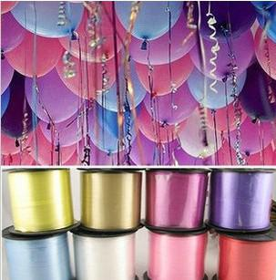 Wholesale Retail 500 Yard Colorful Balloons Ribbons For Birthday