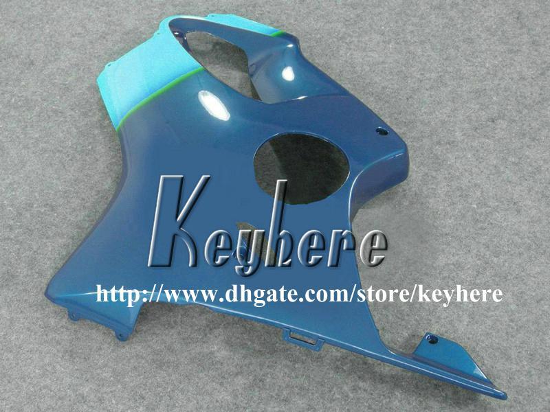 Gratis 7 geschenken Custom Race Fairing Kit voor HONDA CBR600 2001 2002 2003 CBR 600 01 02 03 F4I FACKINGS G4H NIEUW BLACK BLAUWE MOTORFIETS LICHAAMWERKING