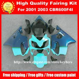 Custom Body Honda Cbr Australia - Free 7 gifts Custom race fairing kit for Honda CBR600 2001 2002 2003 CBR 600 01 02 03 F4I fairings G4h new black blue motorcycle body work