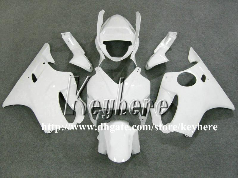 Free 7 regali Kit carena da corsa personalizzato Honda CBR600 2001 2002 2003 CBR 600 01 02 03 Carene F4I G6h nuovo lavoro carrozzeria moto bianco puro