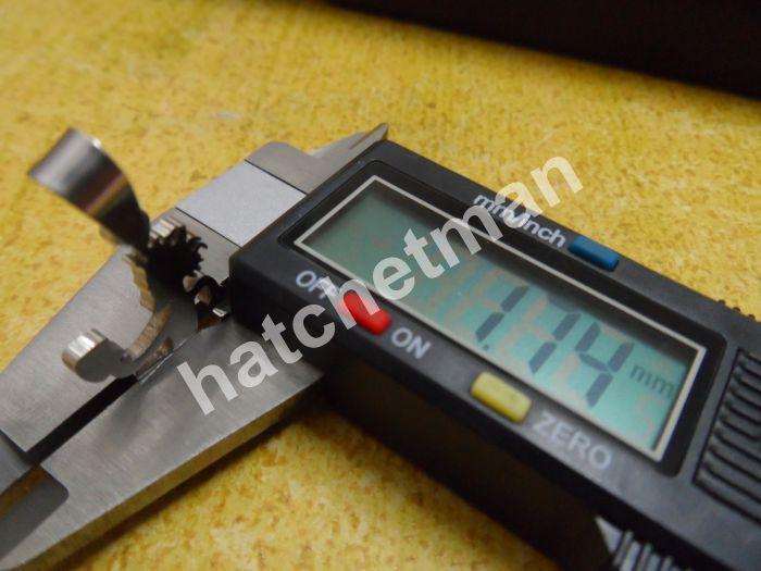 Pendentif ICP High en acier inoxydable poli 1 po HATCHETMAN CHARM NECKLACE SHIP GRATUIT