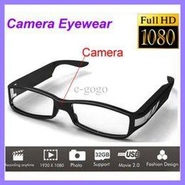 Canada Full HD 1080P Eyewear Caméra Mini Caméra DV Lunettes Mini DV Caméscope Offre