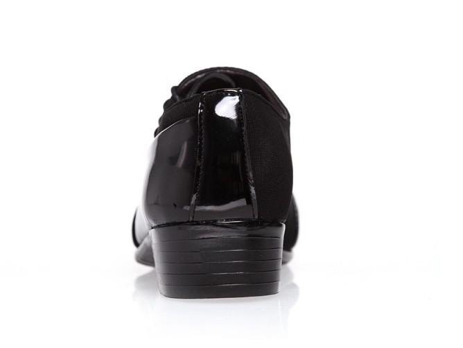 SIZE:39-44 Black Groom shoes men leather shoes men's casual shoes men's wedding shoes dress shoes T8