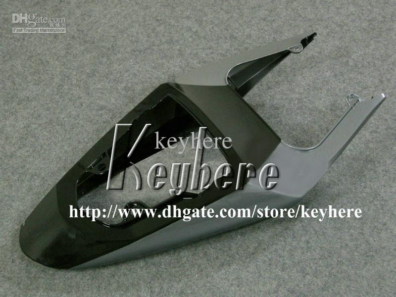 Gratis 7 geschenken Custom Fairing Kit voor Suzuki GSXR 600 750 04 05 GSXR600 R750 2004 2005 K4 GSXR600 BIJGELIJKHEIDS G7U Hot Koop Zwart Grijs Motorfiets