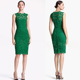 Barato Vestido De Renda Vintage Para Senhoras-2017 Novo Bodycon Lace Dress Hot Moda Verão Prom Party Dress Mulheres sem mangas Sexy Pencil Dress Ladies casual midi saias