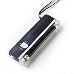 Wholesale Handheld Money Detector - 2 In 1 UV Black Light Handheld Torch Portable Fake Money ID Detector Lamp Tool