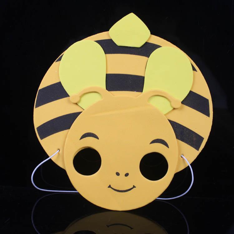 Cartoon dier kinderen masker verjaardagscadeau decoratieve kunst eva masker carnaval masquerade ballen kinderen cadeau ma20