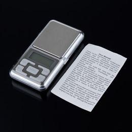 Wholesale Jewelry Box Up - by FEDEX  dhl  UPS 100pcs lot Factory Price 200g x 0.01g Electronic Mini Pocket Jewelry Digital Scale Balance with retail box
