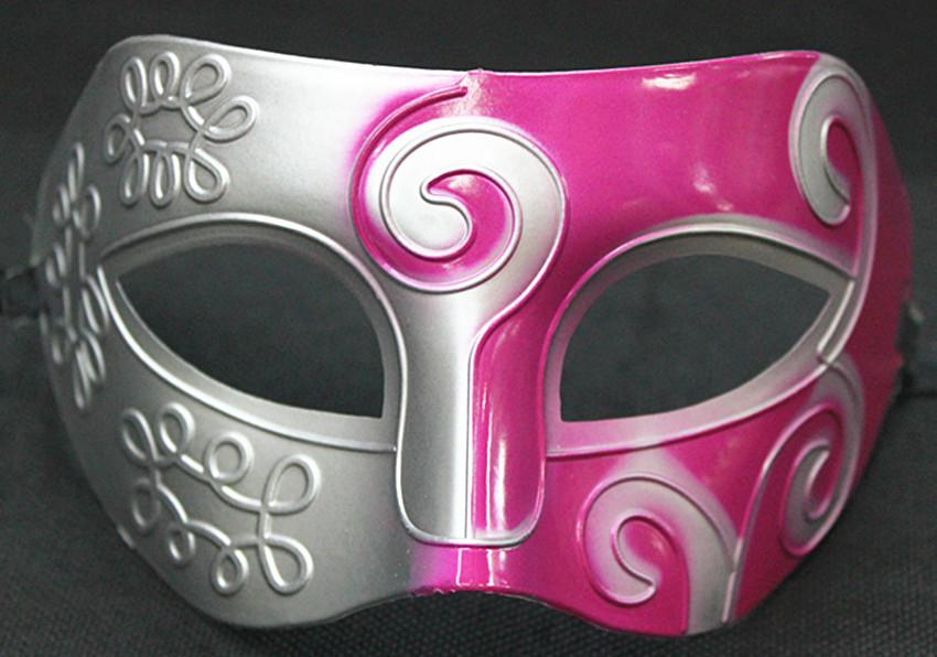 Mescoli la maschera colorata / di prestazione colorata spruzzo-maschera della maschera del cavaliere degli uomini della maschera di Masquerade degli uomini di i libera la spedizione