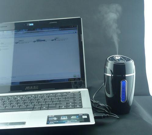 자동차 가습기 음이온 자동차 산소 바 자동차 공기 청정기 미니 USB 선물 2in1 USB 자동차 어댑터 미니 공기 가습기 맞는 자동차 오피스 홈