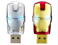 Wholesale Flash Thumb Drives - Free shipping 128GB 256GB thumb drive usb flash drive Plastic Marvel Iron man for C8J51PA Envy 4-1105tu C0P41PA